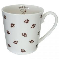 Japan Snoopy Ceramics Mug - Dog Palm