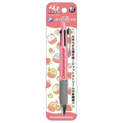 Japan San-X Jetstream 4+1 Multi Pen & Mechanical Pencil - Sumikko Gurashi / Strawberry Pink