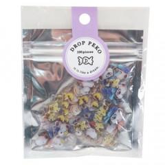 Japan Snoopy Drop Peko Flake Sticker Pack - Friends
