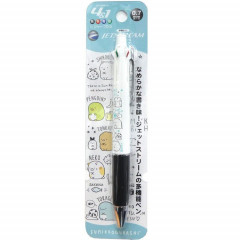 Japan San-X Jetstream 4+1 Multi Pen & Mechanical Pencil - Sumikko Gurashi / White