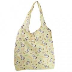 Japan Snoopy Eco Shopping Bag - Light Yellow