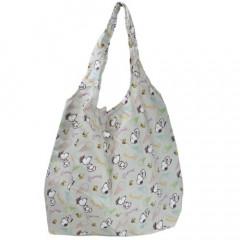 Japan Snoopy Eco Shopping Bag - Light Grey