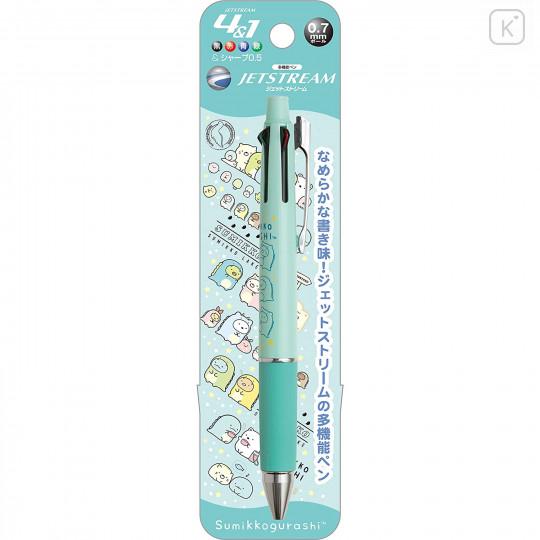 Japan San-X Jetstream 4+1 Multi Pen & Mechanical Pencil - Sumikko Gurashi / Dinosaur - 1