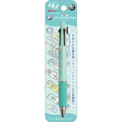 Japan San-X Jetstream 4+1 Multi Pen & Mechanical Pencil - Sumikko Gurashi / Blue Green