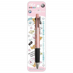 Japan San-X Jetstream 4+1 Multi Pen & Mechanical Pencil - Rilakkuma / Pink