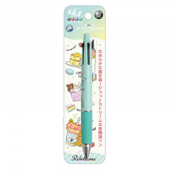 Japan San-X Jetstream 4+1 Multi Pen & Mechanical Pencil - Rilakkuma / Blue