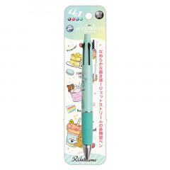 Japan San-X Jetstream 4+1 Multi Pen & Mechanical Pencil - Rilakkuma / Dessert Green
