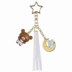 Japan San-X Key Chain - Chairoikoguma / Fluffy Angel