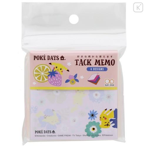Japan Pokemon Memo Pad - Pikachu / Poke Days Pink - 1