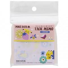 Japan Pokemon Memo Pad - Pikachu / Poke Days Pink