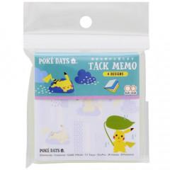 Japan Pokemon Memo Pad - Pikachu / Poke Days Blue