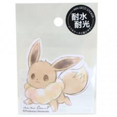 Japan Pokemon Deco Sticker - Eevee