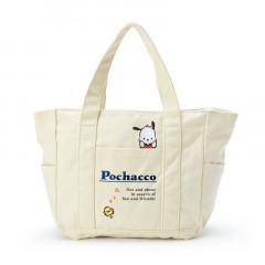 Japan Sanrio Canvas Handbag - Pochacco