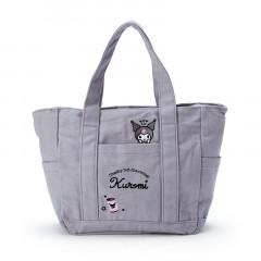 Japan Sanrio Canvas Handbag - Kuromi