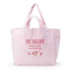 Japan Sanrio Canvas 2way Tote Bag - My Melody