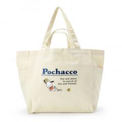 Japan Sanrio Canvas 2way Tote Bag - Pochacco