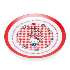 Japan Sanrio Melamine Plate - Hello Kitty