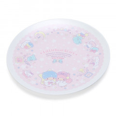 Japan Sanrio Melamine Plate - Little Twin Stars