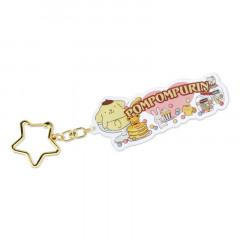 Japan Sanrio Acrylic Keychain - Pompompurin