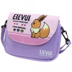 Japan Pokemon Mini Shoulder Bag - Eevee Purple