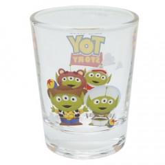 Japan Disney Mini Glass Cup - Alien