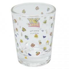 Japan Disney Mini Glass Cup - Alien / Flyer
