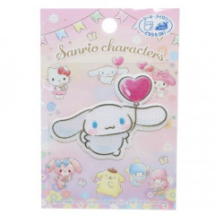Japan Sanrio Iron-on Applique Patch - Cinnamoroll & Heart