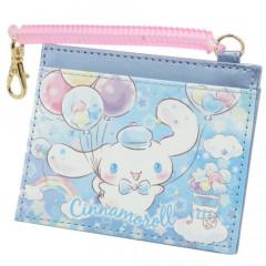 Sanrio Pass Case Card Holder - Cinnamoroll & Balloon