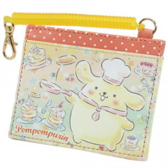 Japan Sanrio Pass Case Card Holder - Pompompurin & Pancake