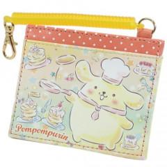 Sanrio Pass Case Card Holder - Pompompurin & Pancake