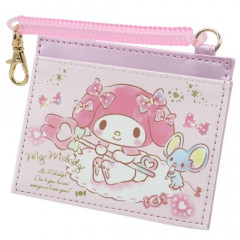 Japan Sanrio Pass Case Card Holder - My Melody & Pink