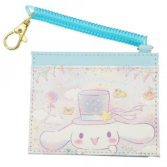 Japan Sanrio Pass Case Card Holder - Cinnamoroll & Cloud