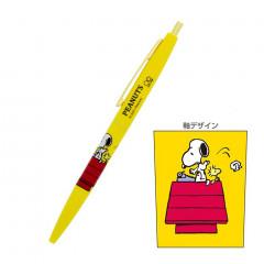 Japan Peanuts Ball Pen - Snoopy & Woodstock