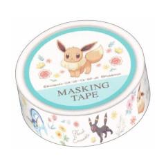 Japan Pokemon Washi Paper Masking Tape - Eevee Evolution