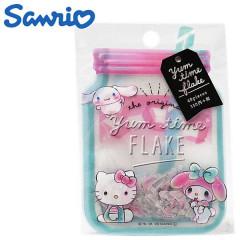 Japan Sanrio Masking Seal Flake Sticker - Yum Time Flake