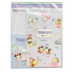 Japan Disney Letter Envelope Set - Tsum Tsum Love
