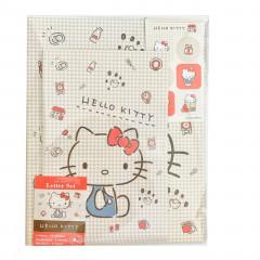 Japan Sanrio Letter Envelope Set - Hello Kitty Daily