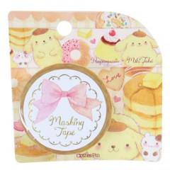 Japan Sanrio Washi Paper Masking Tape - Pompompurin & Pancake