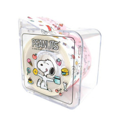 Japan Peanuts Washi Paper Masking Tape - Snoopy Munch Time with cutter