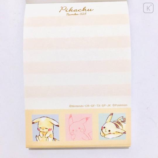 Japan Pokemon Mini Notepad - Pikachu / Colorful - 2