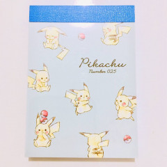 Japan Pokemon B8 Mini Notepad - Pikachu / Full