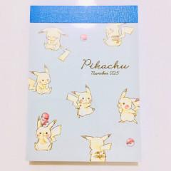 Japan Pokemon Mini Notepad - Pikachu / Full