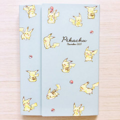 Japan Pokemon A6 Notepad with Cover - Pikachu / Full