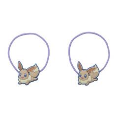 Japan Pokemon Hair Tie 2pcs - Eevee