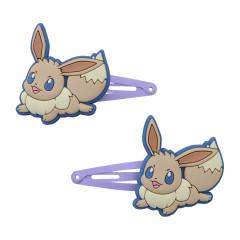 Japan Pokemon Hair Clip 2pcs - Eevee