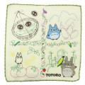 Japan Studio Ghibli Embroidery Handkerchief - My Neighbor Totoro / Vegetables - 1