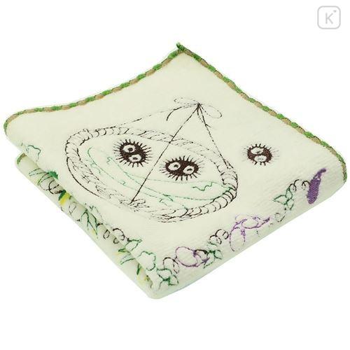 Japan Studio Ghibli Embroidery Handkerchief - My Neighbor Totoro / Vegetables - 2