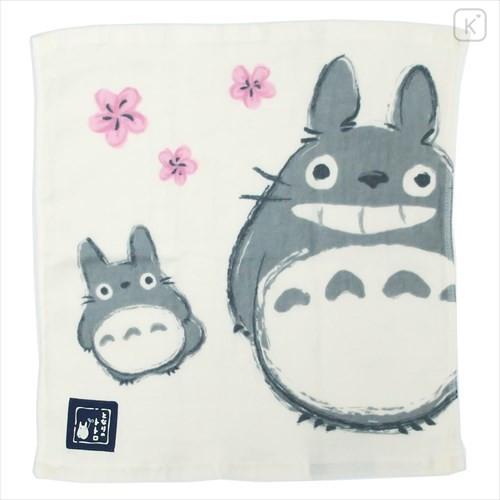 Japan Ghibli Wash Handkerchief - My Neighbor Totoro / Flower - 1