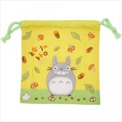 Japan Ghibli Drawstring Bag - Totoro / Smile