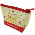 Japan Pokemon Triangular Mini Pouch - Pikachu - 2